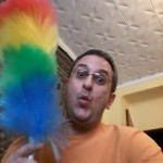 feather duster Reza