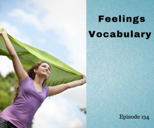 feelings vocabulary
