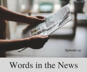 words in the news
