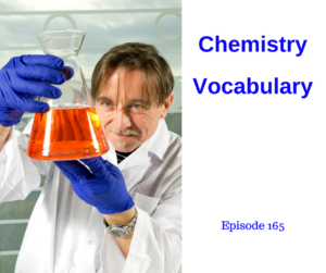 Chemistry Vocabulary – AIRC165