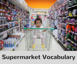 Supermarket Vocabulary
