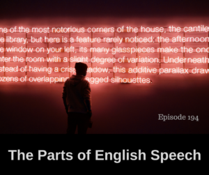 The Parts of English Speech – AIRC194