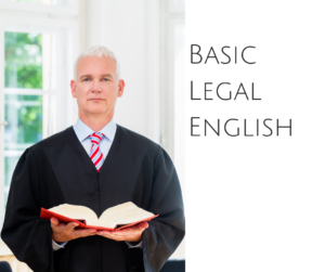 Basic Legal English – AIRC231