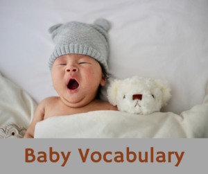 Baby Vocabulary – AIRC264