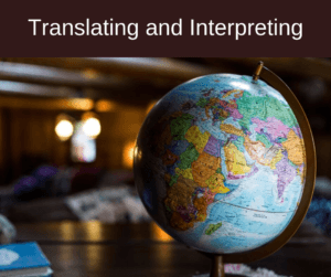 Translating and Interpreting – AIRC279