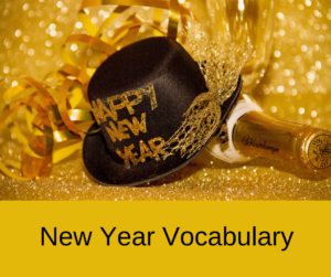 New Year Vocabulary – AIRC292