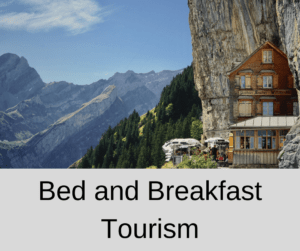 Bed and Breakfast Tourism – AIRC302
