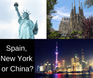 Living in Spain, New York and China – and your comments and questions – AIRC334
