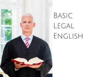 Basic Legal English – AIRC231