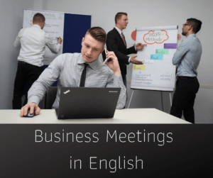 Business Meetings in English – AIRC277
