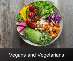Vegans and Vegetarians – AIRC274
