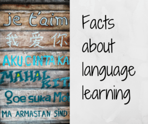 Facts about language learning – AIRC286