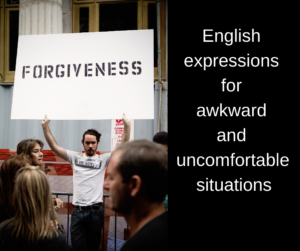 English expressions for awkward and uncomfortable situations – AIRC293