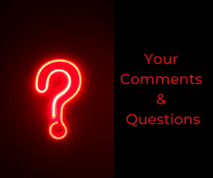 Your Comments and Questions – AIRC355